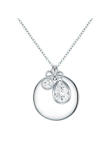 Rafaela Donata Halskette Sterling Silber Zirkonia in Silber in silber