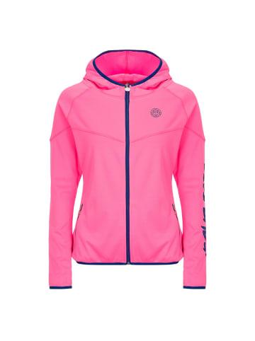 BIDI BADU Inga Tech Jacket in dunkelblau/pink