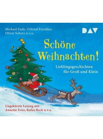 Der Audio Verlag Schöne Weihnachten! Lieblingsgeschichten für Groß und Klein, 3 Audio-CDs