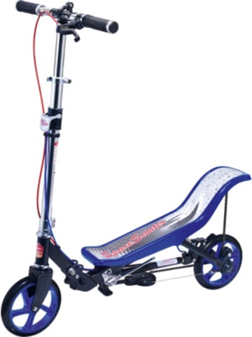 Space Scooter X 590 Deluxe, blau