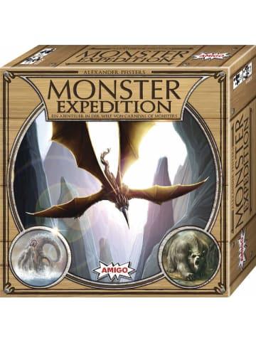 Amigo Amigo Monster Expedition - Würfelspiel für 1-4 Spieler ab 12 Jahren