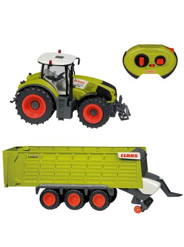 CLAAS RC Fahrzeug Traktor Axion 870 + 9600 Cargo Anhänger in Multicolor