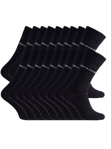 Pierre Cardin Socken 30 Paar in Schwarz
