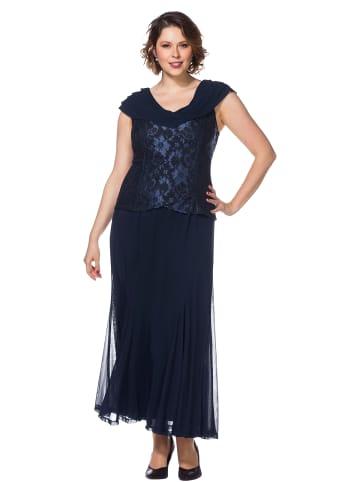 Sheego Abendkleid in blau