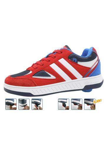 """Breezy Rollers Sneakers mit Rollen """"2180182"""" in Rot/Weiß"""