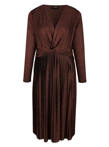MIAMODA Kleid in Bronzefarben