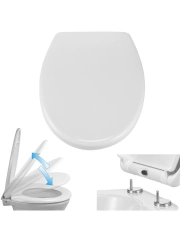 HI WC Sitz Duroplast in Weiß