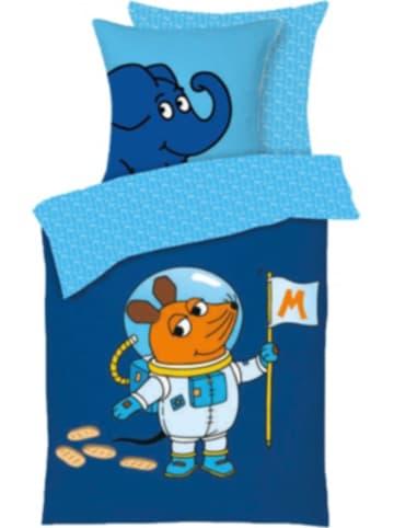 Die Maus Bettwäsche DIE MAUS - Astronaut, 135 x 200 + 80 x 80 cm