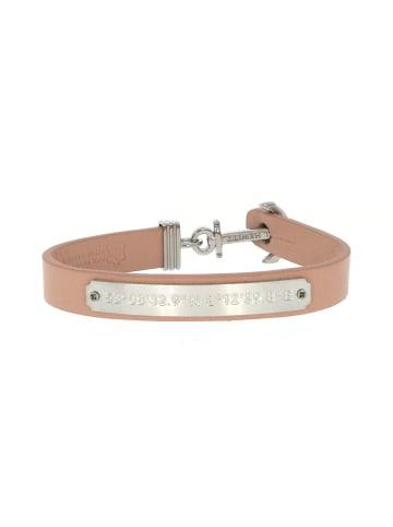 """Paul Hewitt Armband """"Gravur Signum PH-FSC-S-N"""" in beige und silber"""
