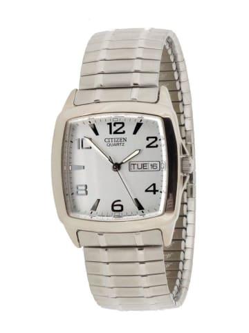 Citizen Analog Uhr 'BK3750' In Silber/Silber