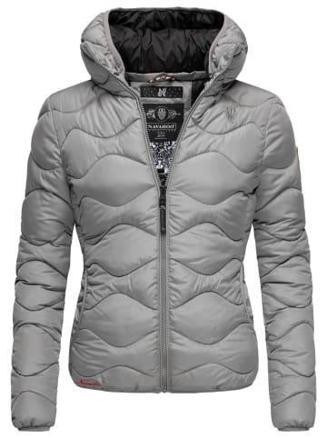 Navahoo Winterjacke Key Color in Grau
