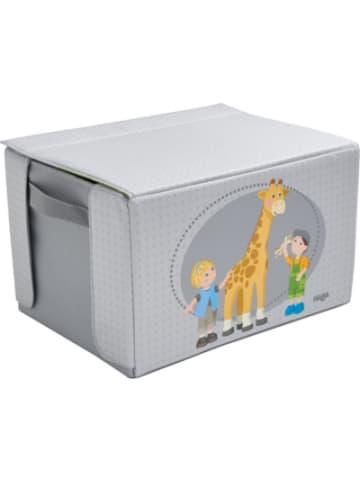 Haba 305655 Little Friends – Spielset und Aufbewahrungsbox Im Zoo
