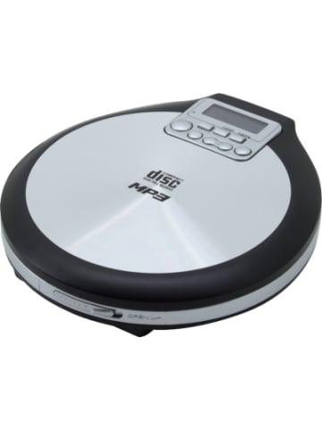 Soundmaster Tragbarer CD/MP3 Player, silber