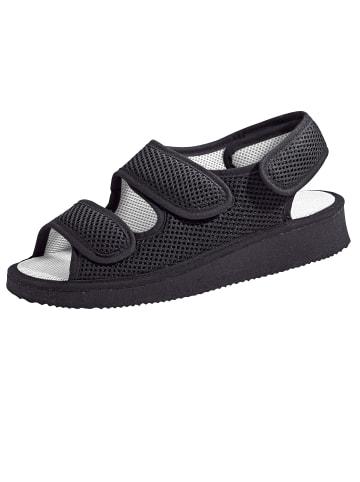 Naturläufer Sandalette in Schwarz