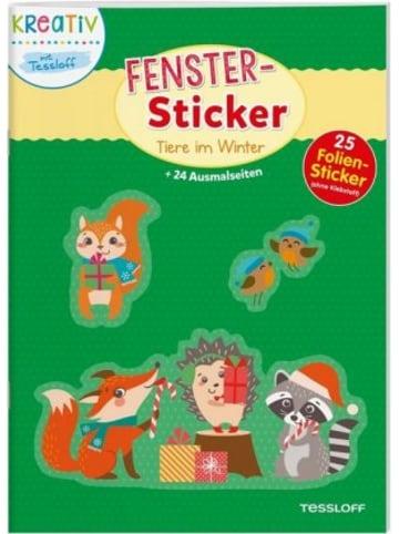 Tessloff Fenster-Sticker Tiere im Winter