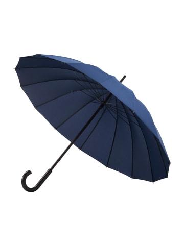 """Doppler Regenschirm """" Natural London """" in Navy"""