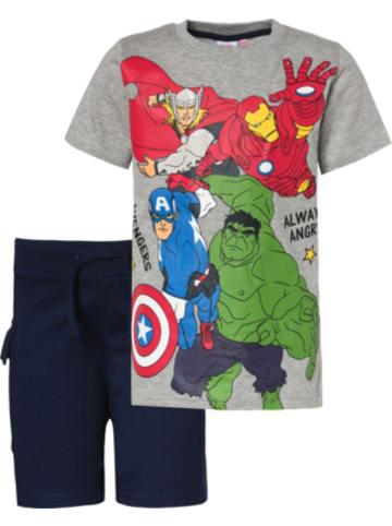 MARVEL Avengers Marvel Avengers Set T-Shirt + Shorts