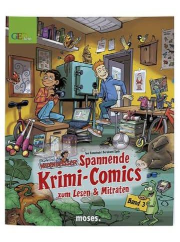 Moses. Redaktion Wadenbeißer - Spannende Krimi-Comics zum Lesen und Mitraten