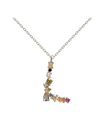 "PDPAOLA Halskette ""Buchstabe L"" in Silber"