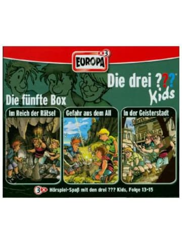 United Soft Media Die drei ???-Kids - Die 5. Box. Box.5, 3 Audio-CDs