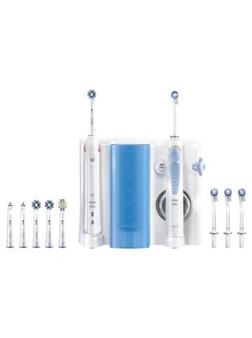 """Oral-B Munddusche """"Smart 5000 + OxyJet Center"""" in Blau"""