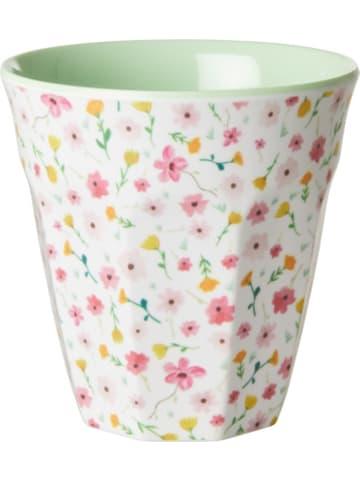 """Rice Melamin Trinkbecher """"White Easter Flower"""", H9cm"""