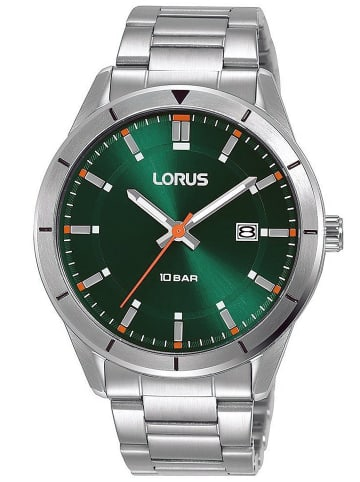 Lorus Herren-Armbanduhr Grün 10 bar
