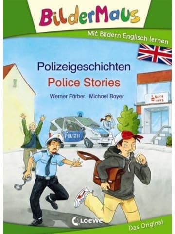 Loewe Verlag Bildermaus - Mit Bildern Englisch lernen - Polizeigeschichten - Police Stories