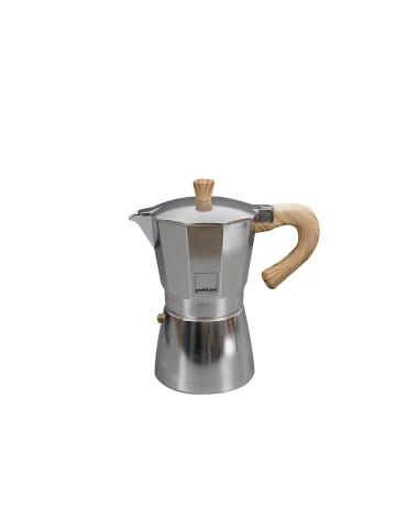 Gnali&Zani Espressokocher Venezia in alu - 3 Tassen