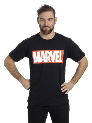 Marvel T-Shirt Logo in schwarz