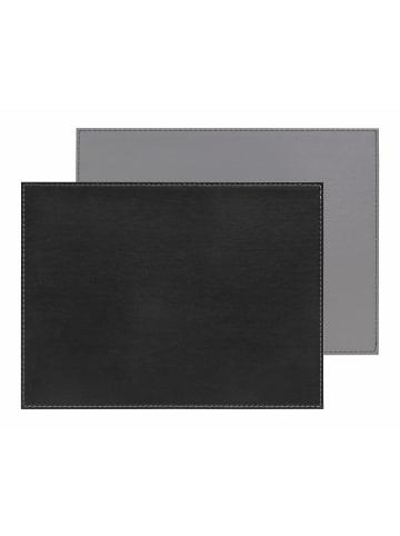 FREEFORM DUO - Platzset rechteckig, schwarz/grau