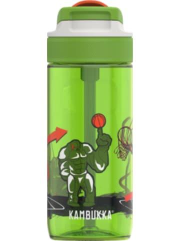 KAMBUKKA® Tritan-Trinkflasche LAGOON Spout Basket Robo, 500 ml, inkl. Trinkhalm
