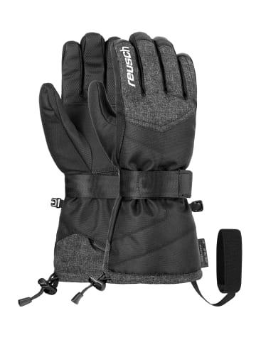 Reusch Fingerhandschuhe Baseplate R-TEX® XT in blck/blck melange/silver