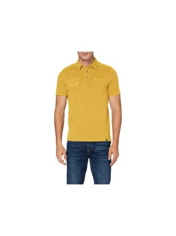 Camel Active Poloshirt kurzarm in gelb