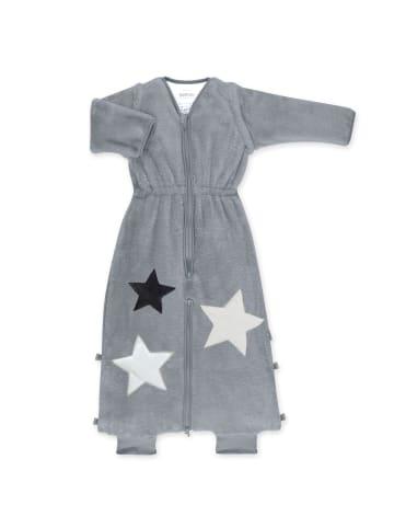 Bemini Schlafsack 18-36 Monate in Mittelgrau kleine Sterne