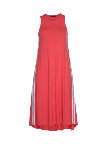 Please Midi-Kleid in Orange