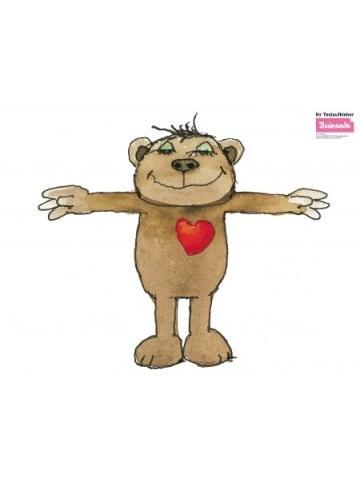 Beiwanda Wandsticker Bär mit Herz