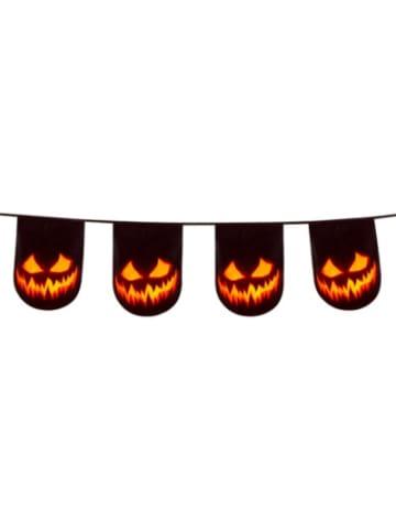Boland Wimpelkette Creepy Pumpkin zweiseitig (6 m)