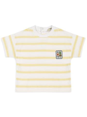 Panco T-Shirt - mit Ornamentalen Etikett - für Jungen in Weiß