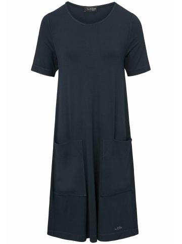LOOXENT Kleid Jersey-Kleid mit 1/2-Arm in marine