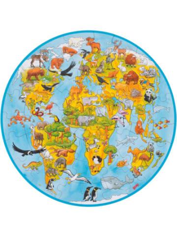 Goki XXL Puzzle 49 Teile Welt