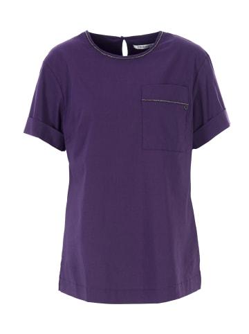 HELMIDGE 3/4-Arm-Shirt Bluse in lila
