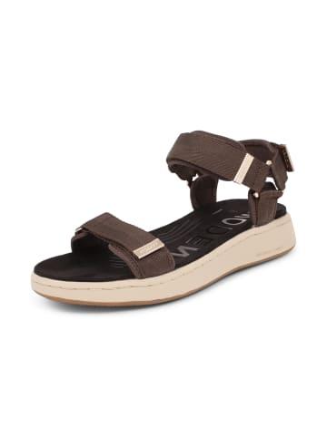 WODEN Sandals Line in Braun