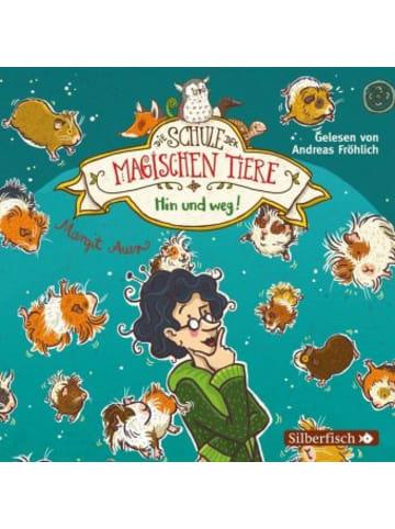 Silberfisch Die Schule der magischen Tiere, Hin und weg!, 2 Audio-CDs