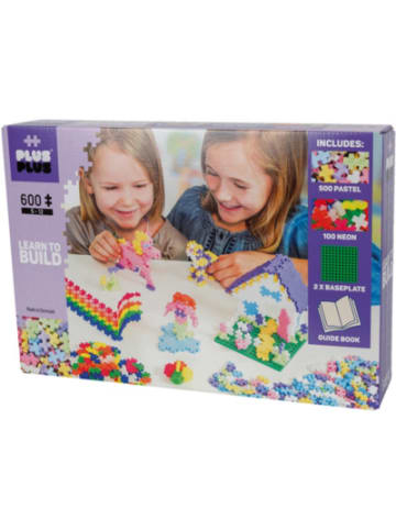 PLUS PLUS Learn to Build Pastel, 600 Teile