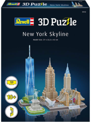 Revell 3D-Puzzle New York Skyline, 123 Teile