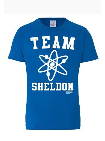 Logoshirt T-Shirt Team Sheldon in blau