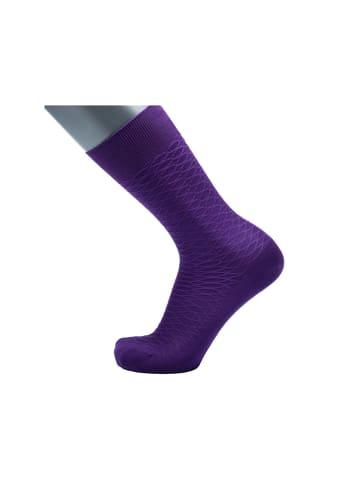 BGents Socken in lila
