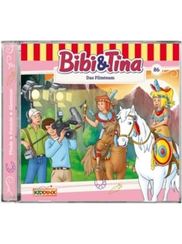 Kiddinx Media Bibi & Tina - Das Filmteam, 1 Audio-CD
