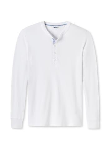 Schiesser Revival T-Shirt in Weiß
